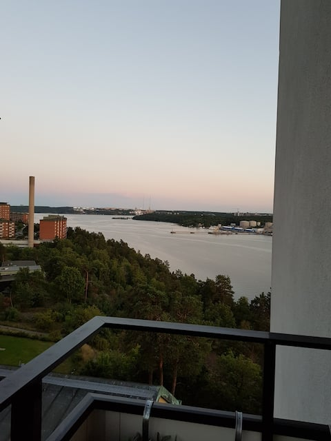 Room with a view just outside Stockholm City