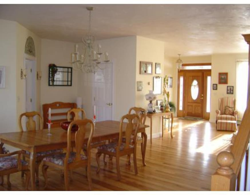 Common dining room area
