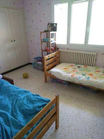 Chambre au 3ème et dernier étage
