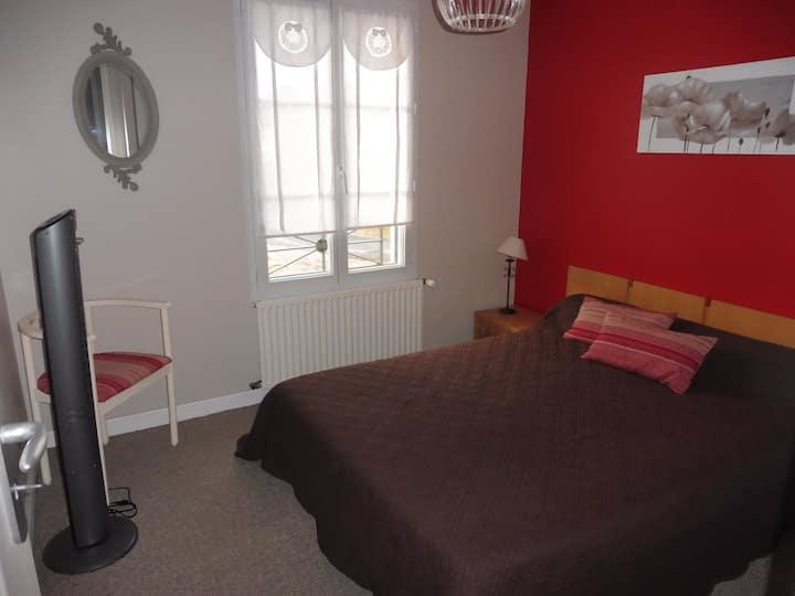 Chambre confortable chez l'Habitant