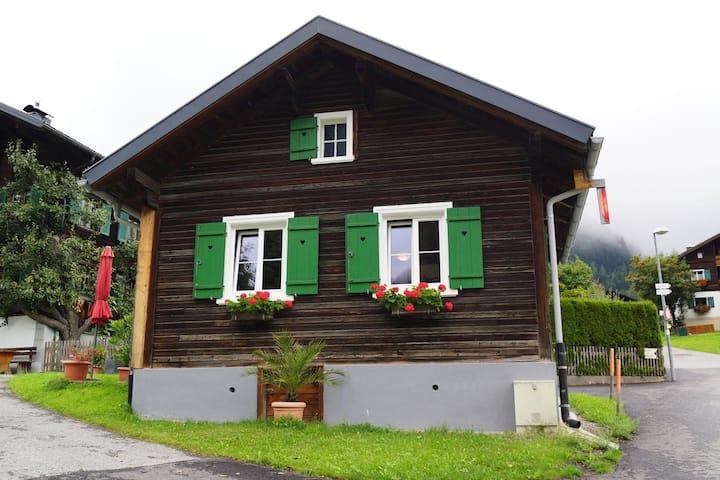 Casa cerca de la zona de esquí en Sankt Gallenkirch