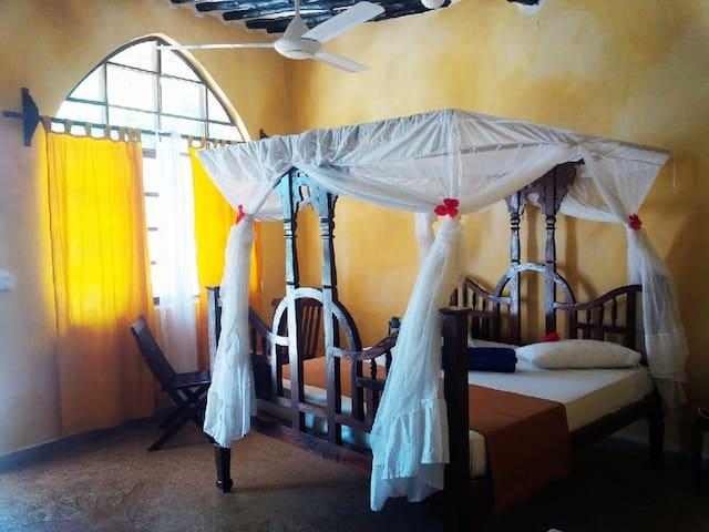Zanzibar garden-view rooms. - Pwani Mchangani - Szoba reggelivel