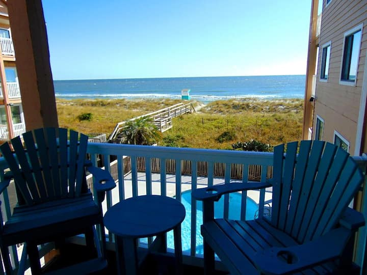 SAND PEBBLES # 6-B - Oceanfront Condo with 2 Community Pools