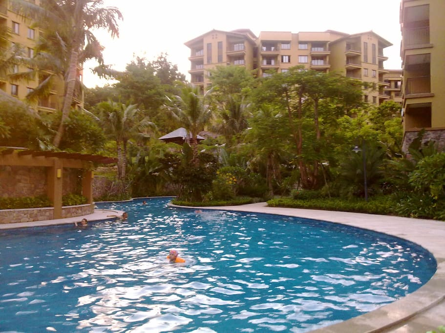 one of swimming pool