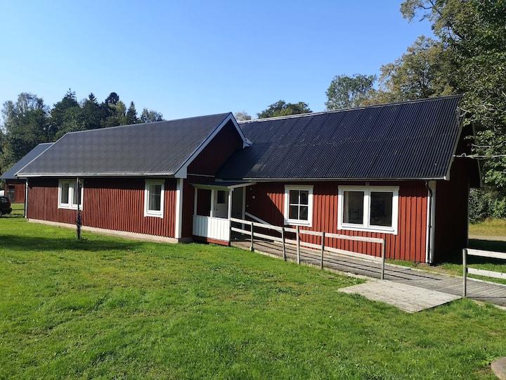 Fint beläget boende i närheten av Växjö Lgh022