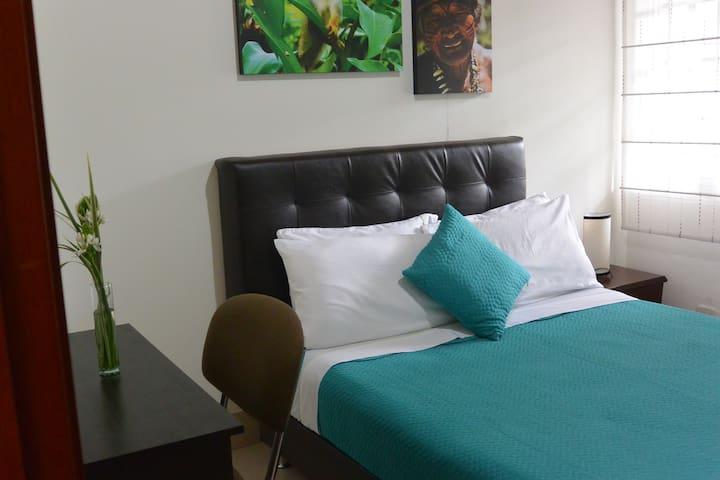Habitación 107 doble baño privado externo
