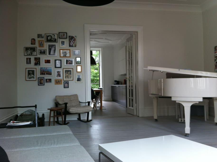 Living Room and the piano