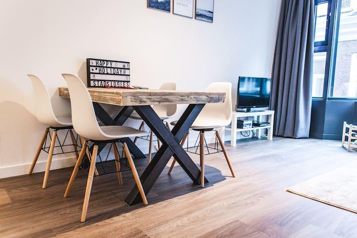 Stadslogies centrum Leeuwarden app D 1 slaapkamer
