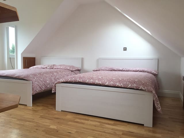Charming Private Room 2 Dbl beds, ensuite (BA-V) - ロンドン - 一軒家