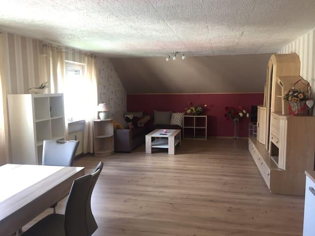 Gemütliche Wohnung (90 qm) im Hunsrück