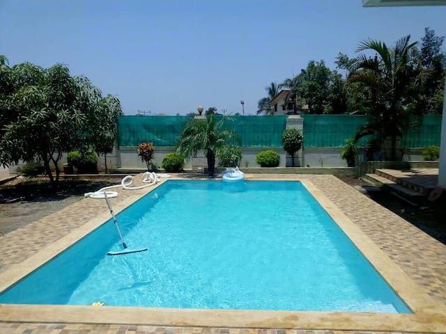 Spectacular 4bhk bungalow with private pool