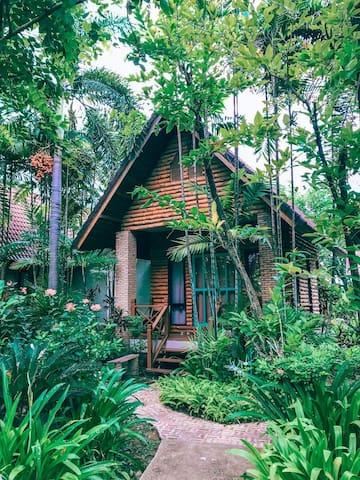 Resort in Suphanburi countryside near Bangkokcity