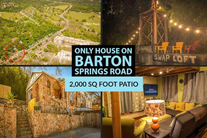 ★Best Located Home in Austin - Walk Everywhere★
