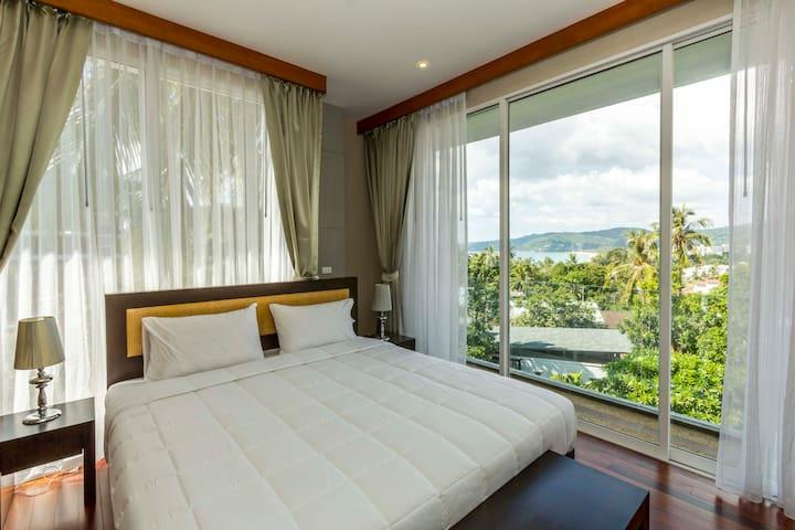 New Modern Apartment 2 Bedroom with Seaview - Tambon Karon - Pis
