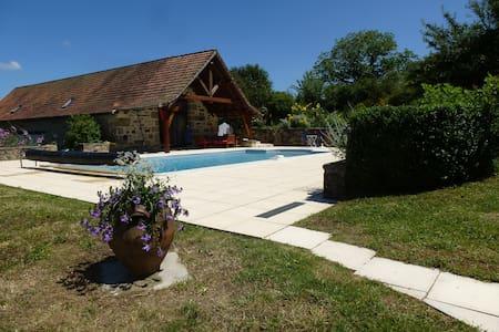 BASTIDE DE CHARME - piscine chauffée - vue panora - Lacapelle-Marival - Rumah