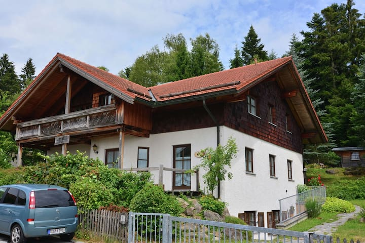 A five bedroom holiday home for 10 people, in the heart of the Bavarian Forest.