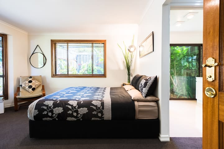 A luxury suite offering privacy, spaciousness, natural light, garden setting, tranquility and most of all quality comfort