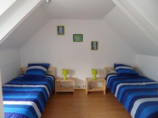 Maison 400m de la mer, centre de St Quay Portrieux - Saint-Quay-Portrieux - Hus