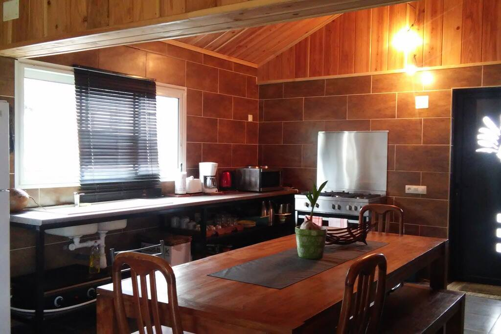 Espace cuisine spacieux ...
