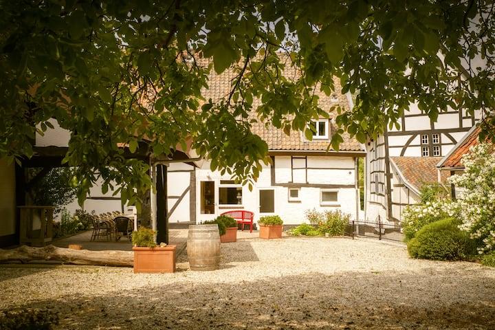 Vakwerkhuis vanaf 6 personen in mooie Heuvelland.