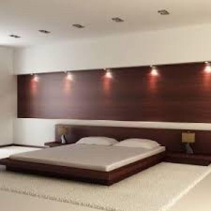 Japanese style main bedroom