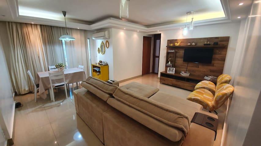Apartamento lindo em área nobre de Goiânia.