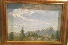 The Majestic Tetons, $75