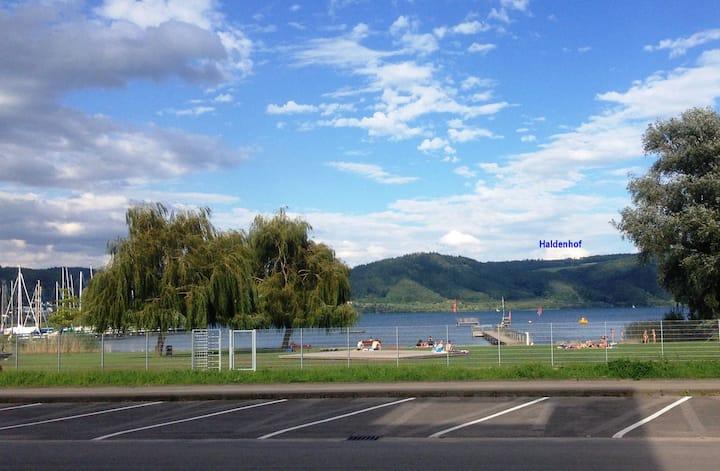 Bodenseeresidenz-Bodmann, (Bodman-Ludwigshafen), Ferienwohnung Haldenhof, 58qm, 2 Schlafzimmer, max. 5 Personen