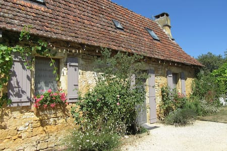 Old cottage house close to Sarlat, kid-friendly