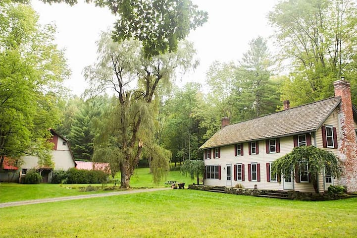 Beautiful Berkshire Farmhouse on 160+ Acres