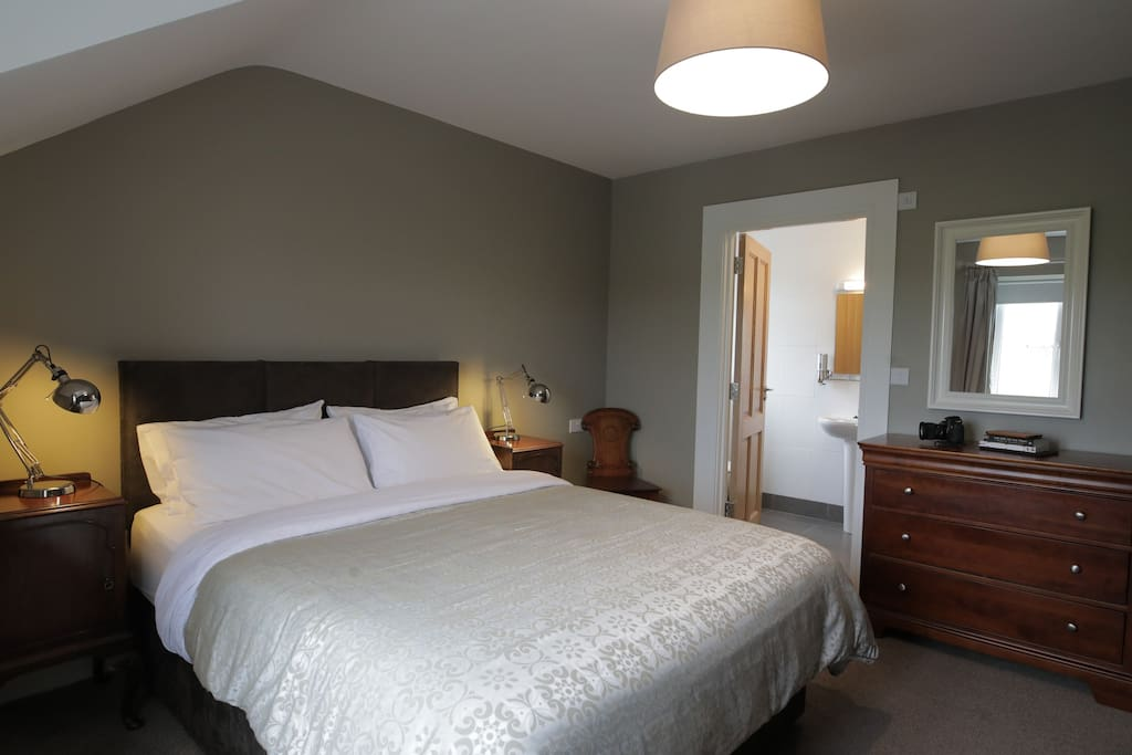 Superior double rooms are large and spacious.