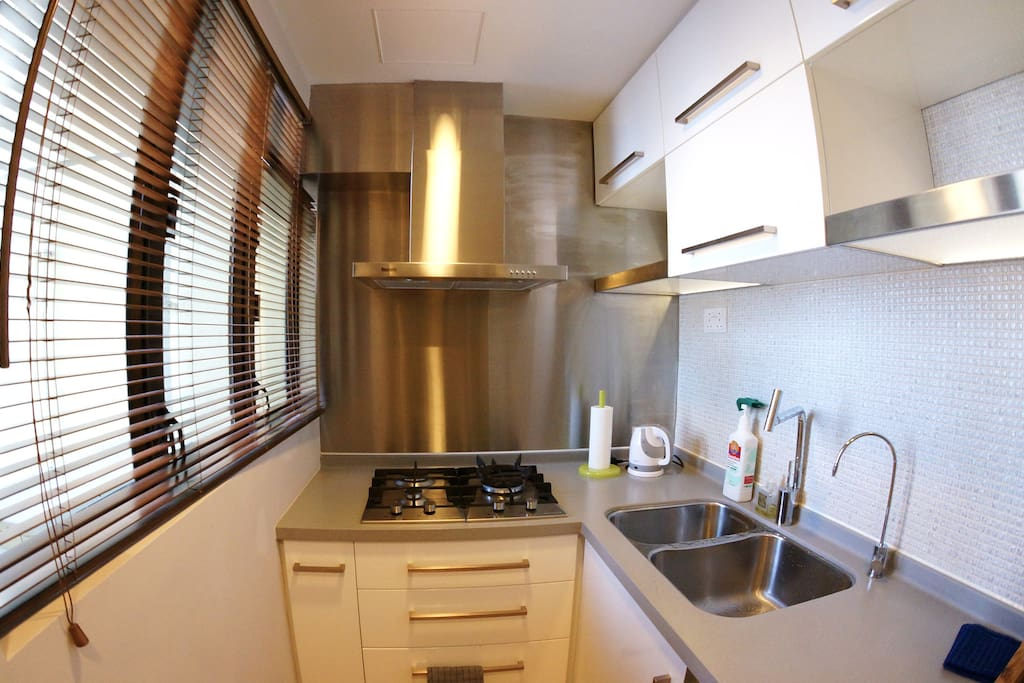 Full equipped kitchen - feel free to cook your breakfast and more…