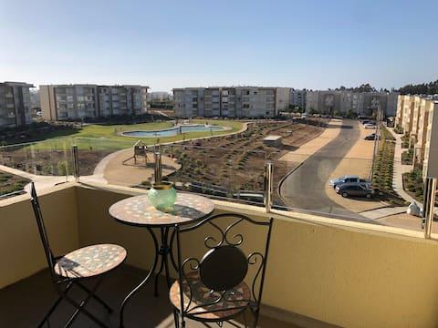 Удобная и красивая квартира в Papudo 3D/2B