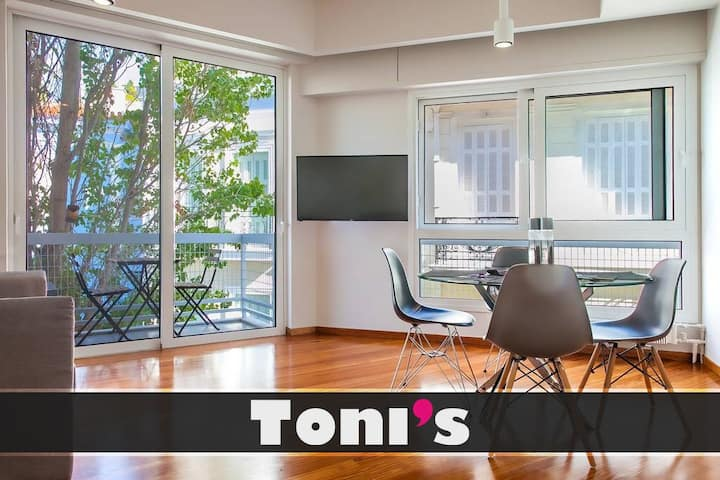 Toni's - Bright apartment near Plaka