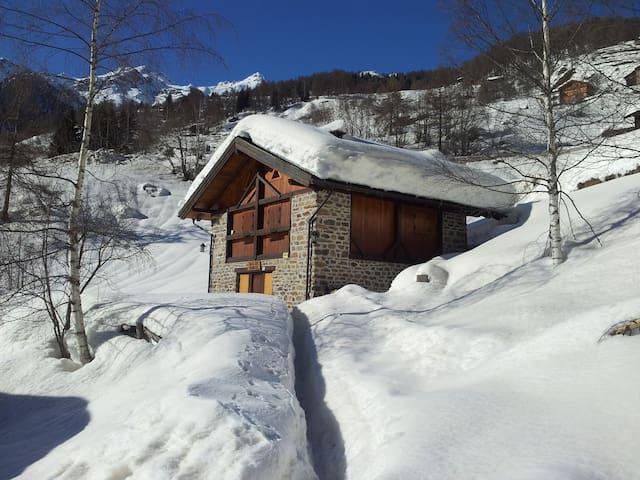Chalet vicino alle piste nel Parco dello Stelvio - Peio - Blockhütte