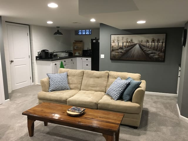 Newly Finished Basement Suite in West Dearborn!