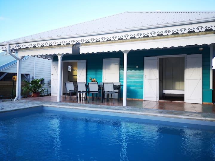 Villa Salsa (6/8personnes) calme, proche de la mer