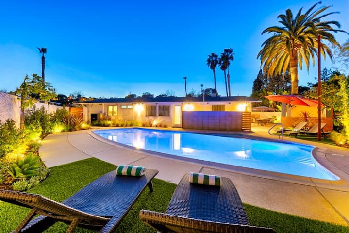 20% OFF AUG - Contemporary Home w/ Pool, Hot Tub, Firepit & More!