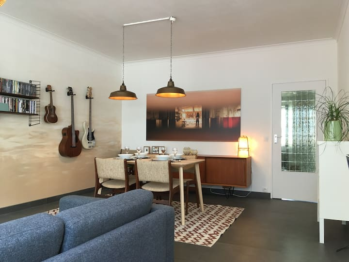 Trendy apartment in the hart of historic Mechelen.