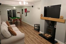 Shared Living Room with TV