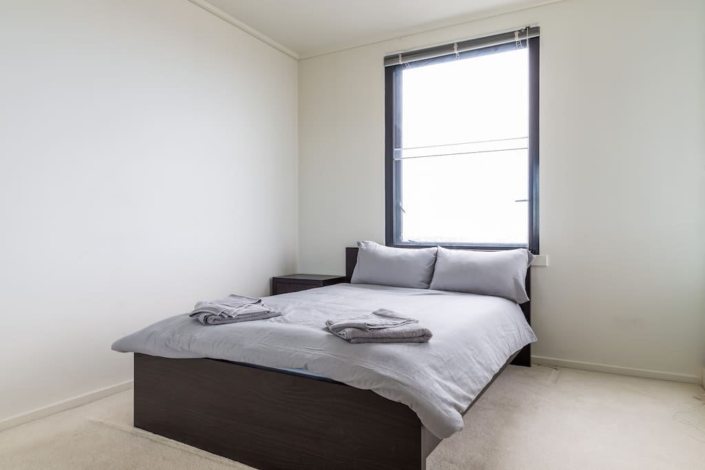 Bedroom 2 with Double Bed and Overlooking View