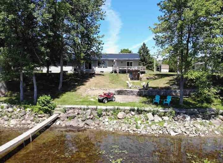 Muskie Fishermen Dream Cottage Home
