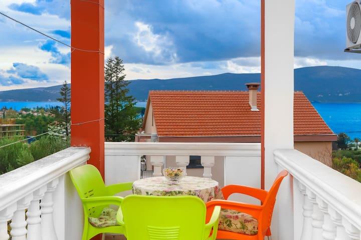 Villa Lastva - Cute Triple Studio
