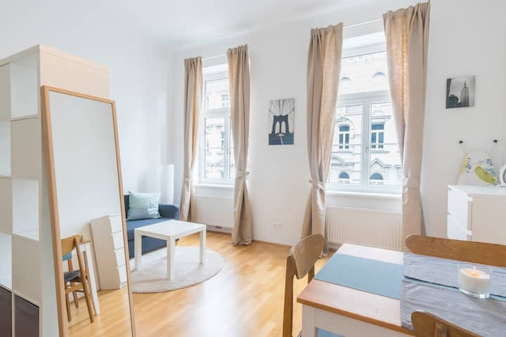 Cosy and Bright Studio near Naschmarkt and Centre