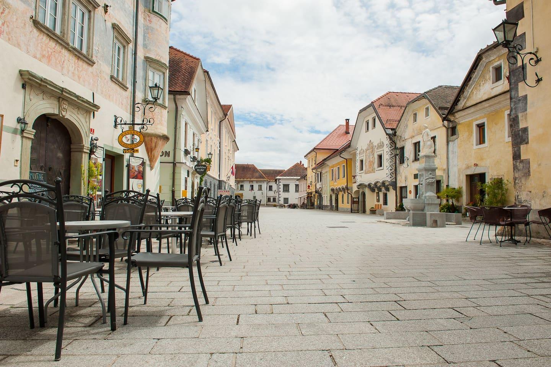 Linhart square, Radovljica