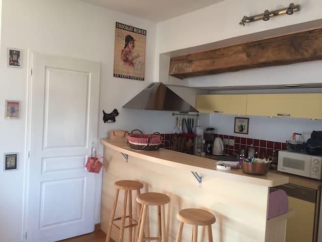 Bel appartement dans château du XVIeme - Varces-Allières-et-Risset - Apartamento