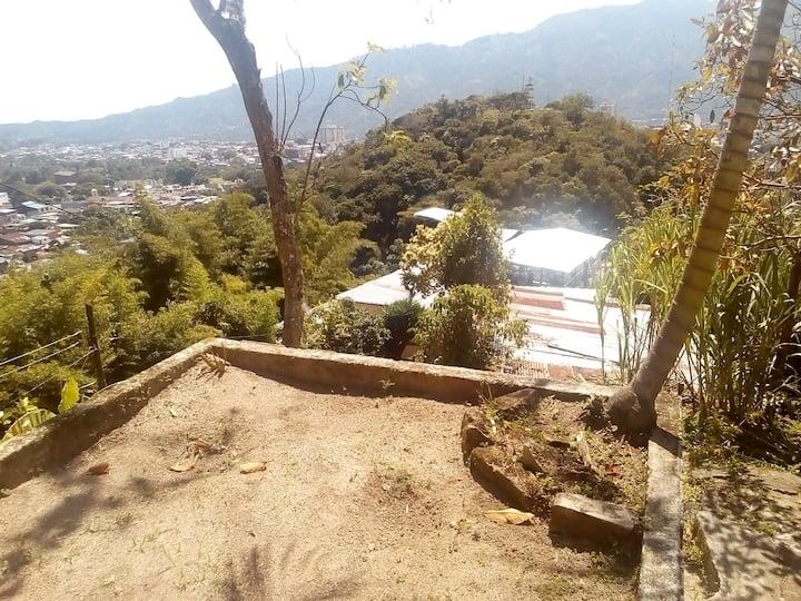 Zona para camping al aire libre en Ibagué Tolima