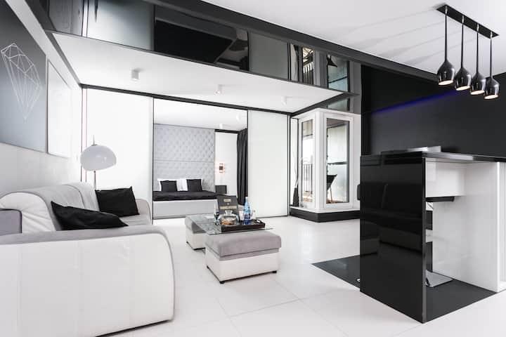 Diamonds Apartment Nadwiślańska, duży, 2-pok,garaż