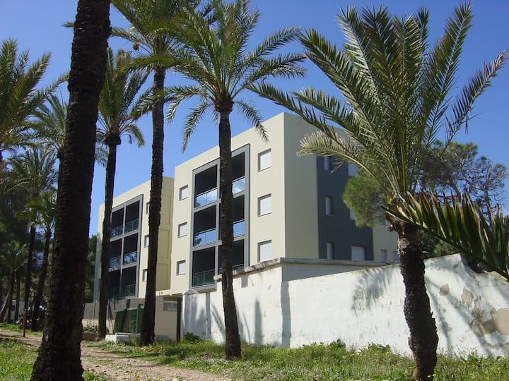 BRV BAJO A  50 m from the sea, pool, Wifi, AC, PK, SAT