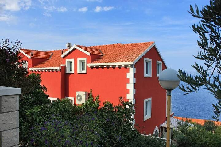 Two bedroom apartment near beach Prigradica, Korčula (A-9290-c) - Blato - อพาร์ทเมนท์